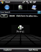 HTC Daimond Theme Mobile Theme
