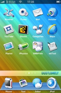 Dustlonely IPhone Theme Mobile Theme