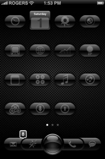 EGlass Apple IPhone Theme Mobile Theme