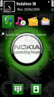 Green Tube Nokia Theme Mobile Theme