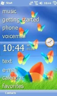 Microsoft MSN Theme Mobile Theme