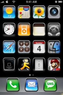 Modified Stock Apple IPhone Theme Mobile Theme
