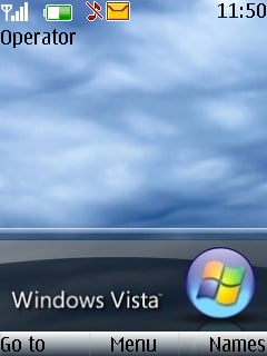 Windows Vista Theme Mobile Theme