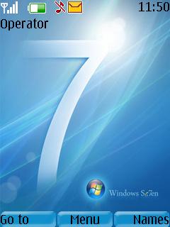 Windows7 Theme Mobile Theme