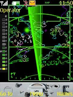 Radar Theme Mobile Theme