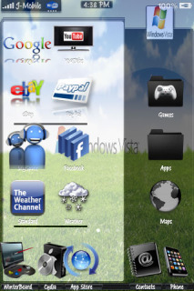 Vista Theme Mobile Theme
