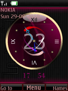 New Clock Theme Mobile Theme