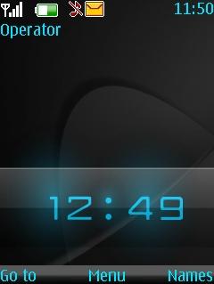 Woodoo Clock Theme Mobile Theme