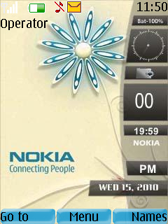 Nokia clock themes free download