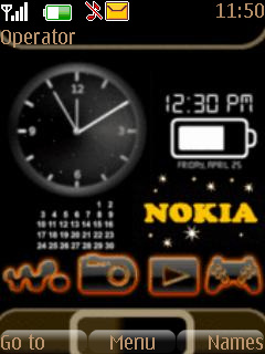 Animated Nokia Mobile Theme