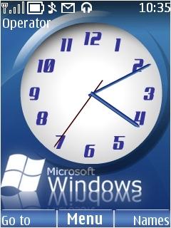 Microsoft Windows Mobile Theme