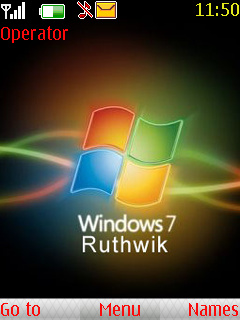 Windows 7 Black Mobile Theme