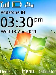 Windows 7 Mobile Theme
