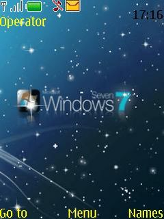 Windows Seven Mobile Theme
