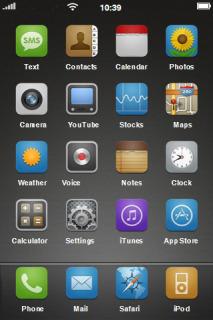 Matte Nano HD Mobile Theme