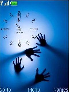 Swf Hand Clock Mobile Theme