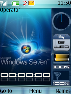 Windows Seven Mobile Theme