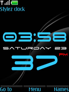 Bold Time Mobile Theme