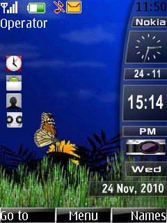 Desktop Slid Bar Mobile Theme