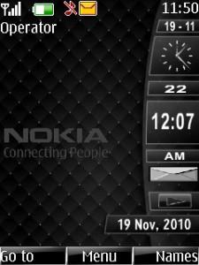 Nokia Slid Bar Mobile Theme