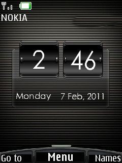 Htc Black Mobile Theme
