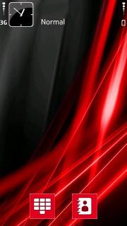 Vista Red Mobile Theme