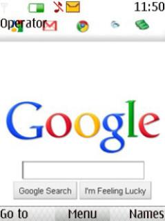 Google Mobile Theme