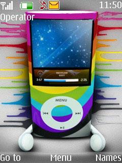 IPod Mobile Theme