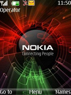 IPhone Nokia Mobile Theme