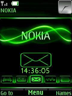 Nokia New Style Mobile Theme