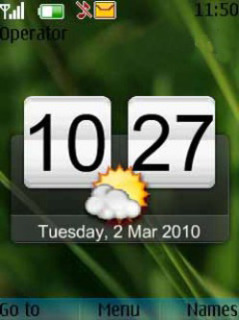 Htc Clock Mobile Theme