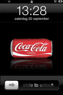 CokeCola Battery Mobile Theme