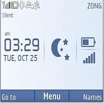 Chrom IPhone Live Mobile Theme
