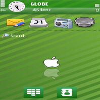 Green Apple Mobile Theme