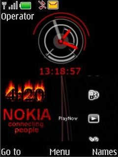 Nokia Connecting People Mobile Theme