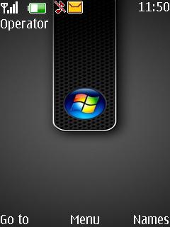 Windows Black Mobile Theme
