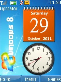 Windows8 Mobile Theme
