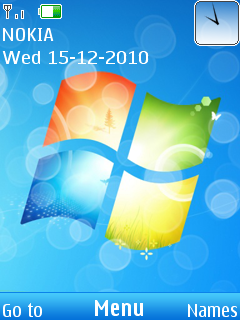 Windows7 Mobile Theme