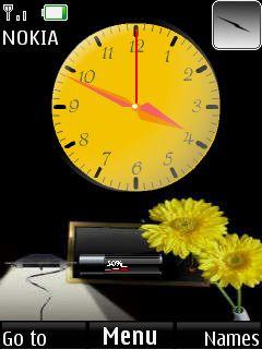 Clock Mobile Theme