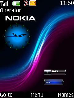 Battery N Signal Mobile Theme