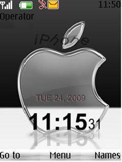 Apple Flash Mobile Theme