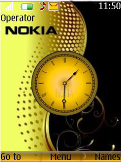 Nokia Analog Mobile Theme
