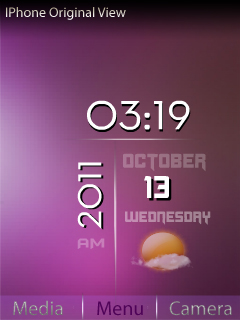 Hd Iphone View S40 Theme Mobile Theme
