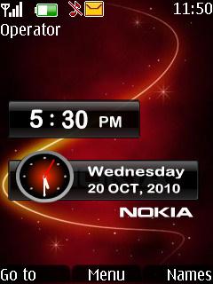 Galaxy Nokia Mobile Theme
