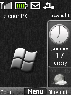 Windows Se7en Sidebar Mobile Theme