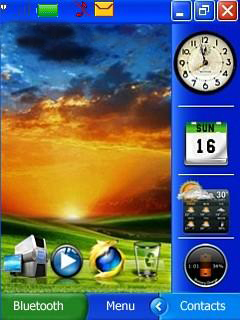 Xp Bliss Mobile Theme