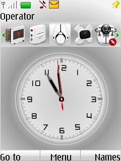 Cerebro Clock Mobile Theme