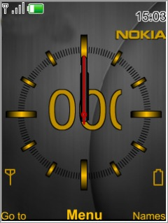 Nokia Gold Mobile Theme