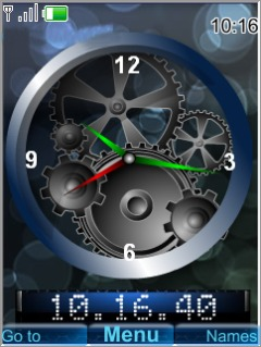 Machanical Clock Mobile Theme