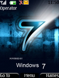 Windows Se7en Mobile Theme